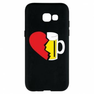 Phone case for Samsung A5 2017 Beer broke the heart