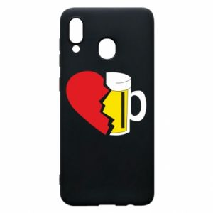 Phone case for Samsung A20 Beer broke the heart