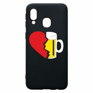 Phone case for Samsung A40 Beer broke the heart