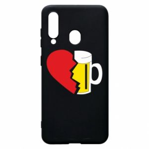 Phone case for Samsung A60 Beer broke the heart