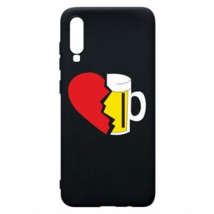 Phone case for Samsung A70 Beer broke the heart