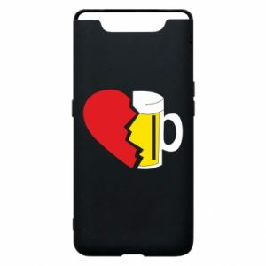 Phone case for Samsung A80 Beer broke the heart