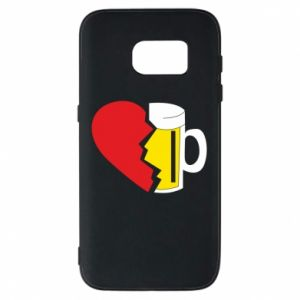 Phone case for Samsung S7 Beer broke the heart