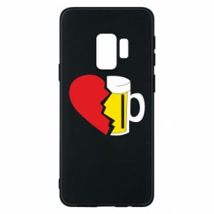Phone case for Samsung S9 Beer broke the heart