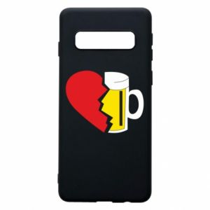 Phone case for Samsung S10 Beer broke the heart