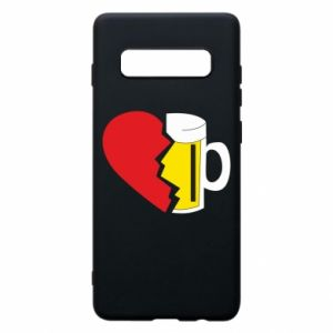 Phone case for Samsung S10+ Beer broke the heart