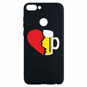 Phone case for Huawei P Smart Beer broke the heart