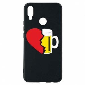 Phone case for Huawei P Smart Plus Beer broke the heart