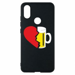 Phone case for Xiaomi Mi A2 Beer broke the heart