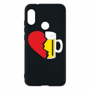 Phone case for Mi A2 Lite Beer broke the heart