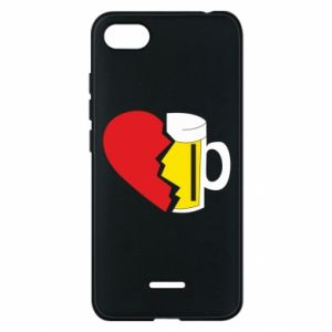 Phone case for Xiaomi Redmi 6A Beer broke the heart