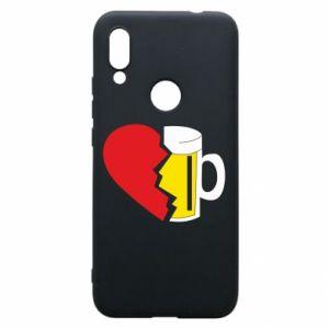 Phone case for Xiaomi Redmi 7 Beer broke the heart