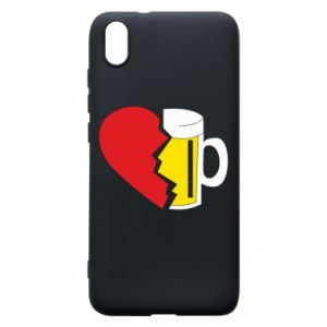 Phone case for Xiaomi Redmi 7A Beer broke the heart