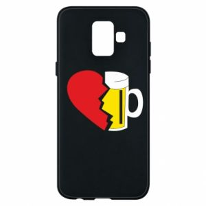 Phone case for Samsung A6 2018 Beer broke the heart