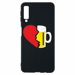 Phone case for Samsung A7 2018 Beer broke the heart
