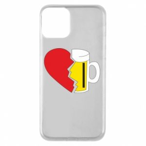 Phone case for iPhone 11 Beer broke the heart
