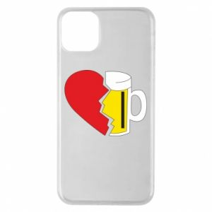 Phone case for iPhone 11 Pro Max Beer broke the heart