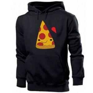 Men's hoodie Beer pizza