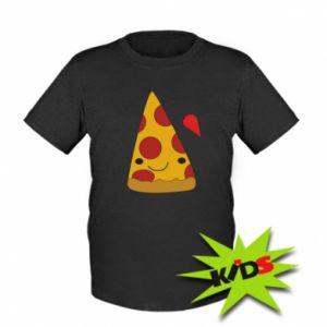 Kids T-shirt Beer pizza