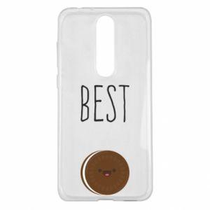 Etui na Nokia 5.1 Plus Best cookie