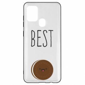 Etui na Samsung A21s Best cookie