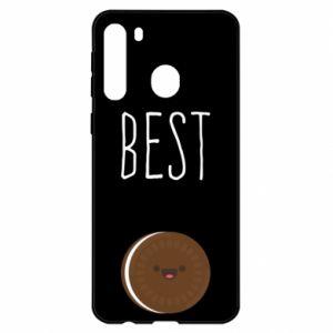 Etui na Samsung A21 Best cookie
