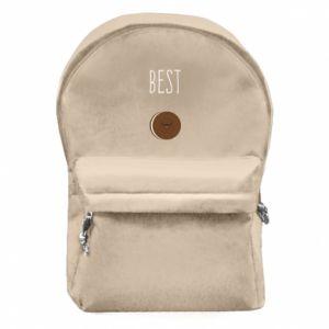 Plecak z przednią kieszenią Best cookie