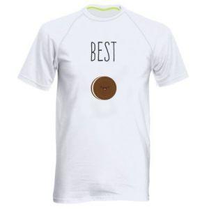 Koszulka sportowa męska Best cookie