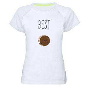 Koszulka sportowa damska Best cookie