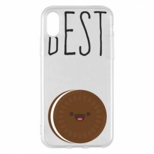 Etui na iPhone X/Xs Best cookie