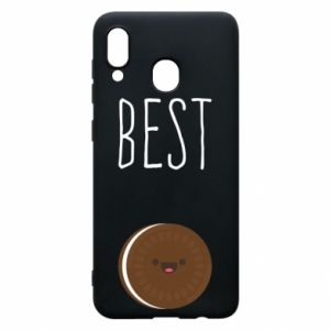 Etui na Samsung A20 Best cookie