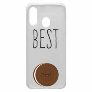 Etui na Samsung A40 Best cookie