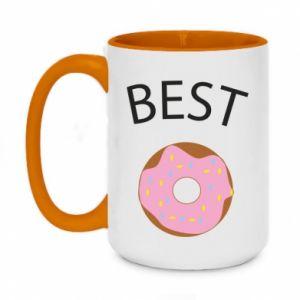 Kubek dwukolorowy 450ml Best donut