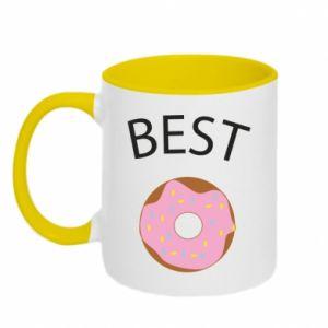Kubek dwukolorowy Best donut