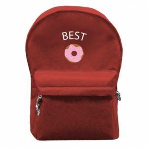 Plecak z przednią kieszenią Best donut