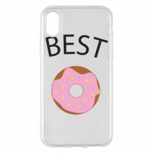 Etui na iPhone X/Xs Best donut
