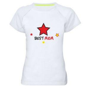 Koszulka sportowa damska Best Mom