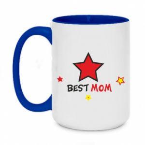 Kubek dwukolorowy 450ml Best Mom