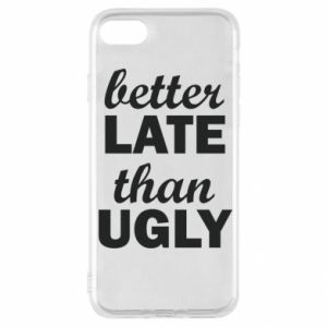 iPhone SE 2020 Case Better late then ugly