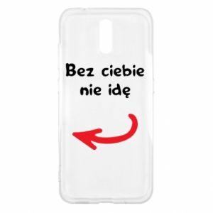 Etui na Nokia 2.3 Bez ciebie nie idę, do przyjaciół