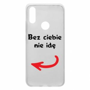 Phone case for Xiaomi Redmi 7 I'm not going without you, to friends