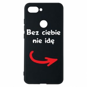 Phone case for Xiaomi Mi8 Lite I'm not going without you - PrintSalon