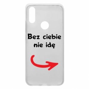Phone case for Xiaomi Redmi 7 I'm not going without you - PrintSalon