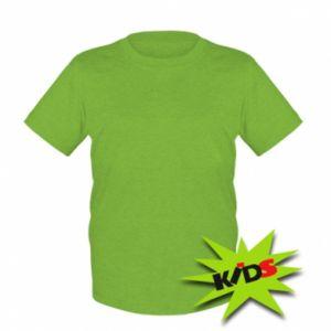 Dziecięcy T-shirt Bez rysunku