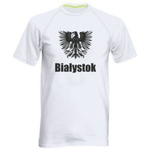 Men's sports t-shirt Bialystok