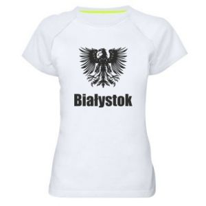 Women's sports t-shirt Bialystok