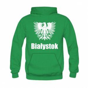 Damska bluza na zamek Białystok - PrintSalon