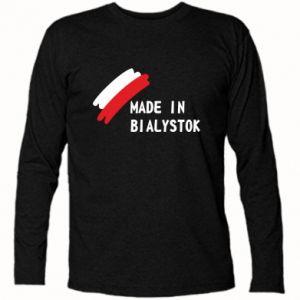 Koszulka z długim rękawem Made in Bialystok - PrintSalon