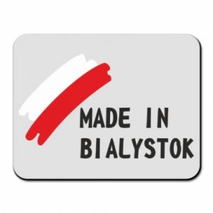 Mouse pad Made in Bialystok