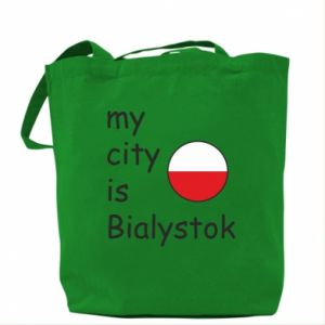 Bag My city is Bialystok